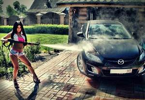 Car Wash - Models Female & People Background Wallpapers on