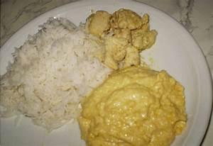 Curry Dip Rezept : h hnchenspie mit aprikosen curry dip rezept mit bild ~ Lizthompson.info Haus und Dekorationen