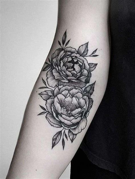 foto de Pivoine signification tatouage 1jour1col