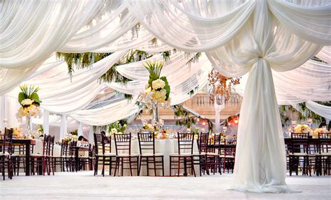 Marquee Ceiling Decorations by Fabulous Drapery Ideas For Weddings Part 2 Belle The