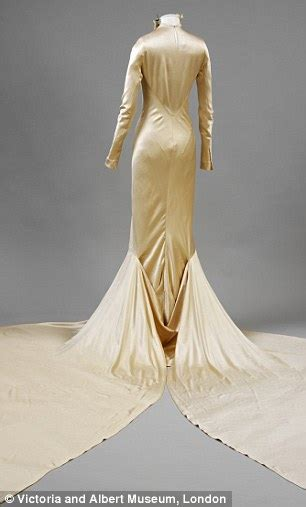 exclusive brautkleider stunning vintage wedding dresses exhibition at the v a daily mail