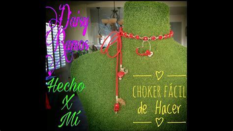 Choker Fácil de Hacer Alambrismo DIY YouTube