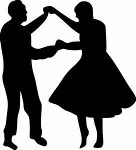 Tanzende Paar Fifties-ClipArt cliparts, kostenlose clipart