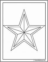 Star Coloring Pages Sheets Printable Pdf Double Colorwithfuzzy sketch template