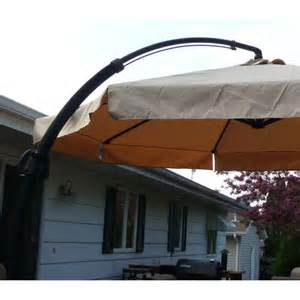 menards 2010 offset umbrella replacement canopy 272 0495 garden winds