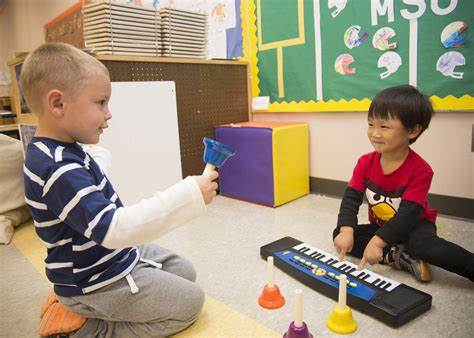 Music Tested In Kindergarten Celebrate The Week Of Junior Child