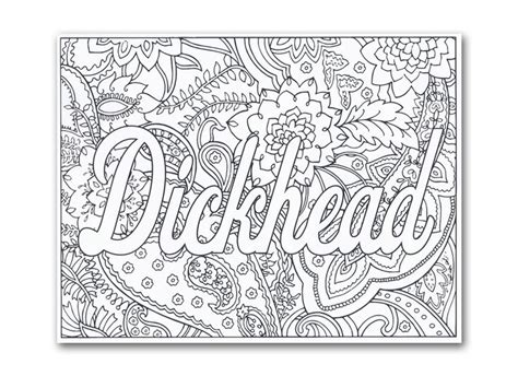 Swear Word Coloring Pages 58 Best Swear Words Coloring Pages Images On