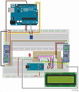 Circuit Diagram For Rs485 Serial Communication Between Arduino Uno And Arduino Nano