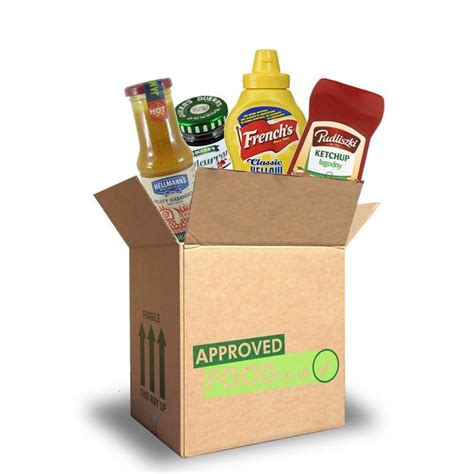 JULY SPECIAL Approved Food Condiments Box
