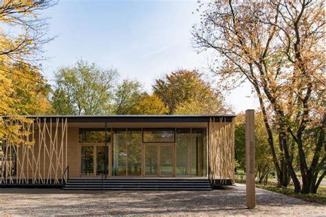Neubau Britzer Garten by H 246 Lzernes Vogelnest Umweltbildungszentrum In Berlin