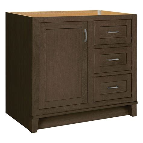 glacier bay bathroom cabinets glacier bay kinghurst 36 in w x 21 in d x 33 5 in h