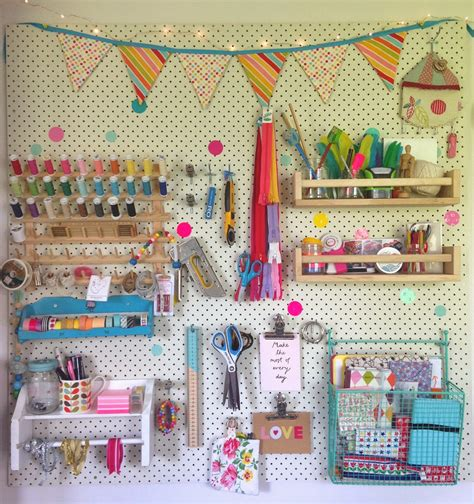 Mousehouse Craft Room Pegboard Diy