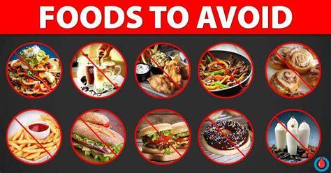 foods  avoid  diabetes  high cholesterol