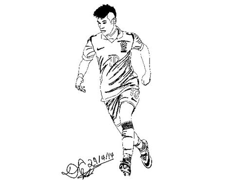 Soccer Coloring Pages Messi - Eskayalitim