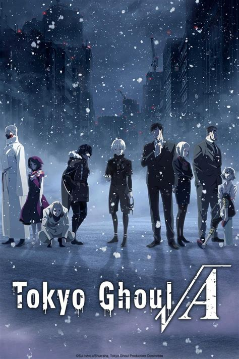 Tokyo Ghoul Tv Series 2014 2018 Posters — The Movie