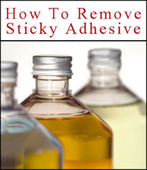 how to get sticker residue plastic 30 helpful items to remove sticky adhesive goo tipnut com