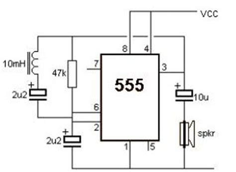 Simple Metal Detector Circuit With Applications