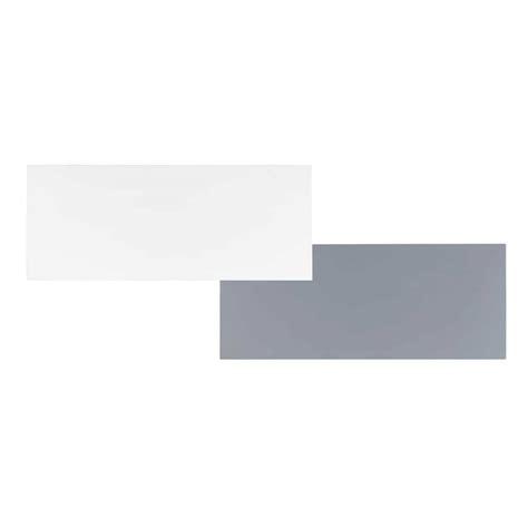 plateaux de bureau plateau de bureau réversible blanc gris l 150 cm desk