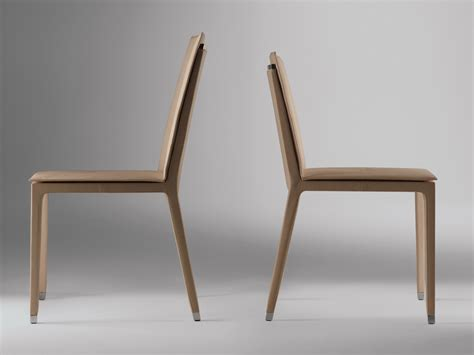 Chair Fitzgerald By Poltrona Frau Design Jean-marie Massaud