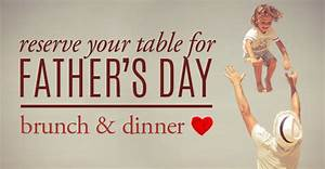 Father's Day Brunch & Dinner Celebration - J-Prime ...