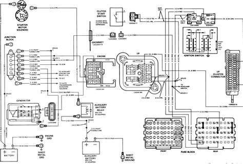 1988 Chevy Truck Alternator Wiring by 1994 Chevy Alternator Wiring Wiring Diagram Database