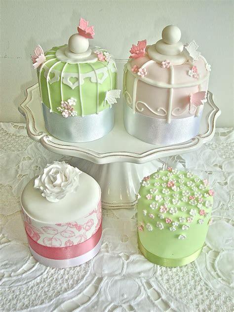 birdcage mini cakes celebration cakes cakeology