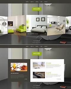 Interior Furniture Website Template 51116