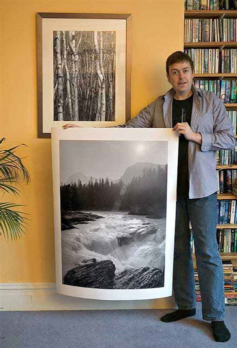 Retail sales: ordering photographic prints from Northlight