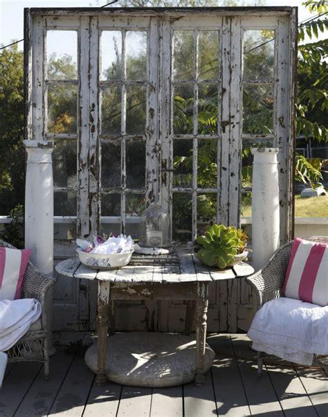 Sichtschutz Garten Regeln by Die Besten 25 Shabby Chic Terrasse Ideen Auf