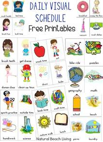 curriculum for toddlers free the morning routine visual schedule printables living