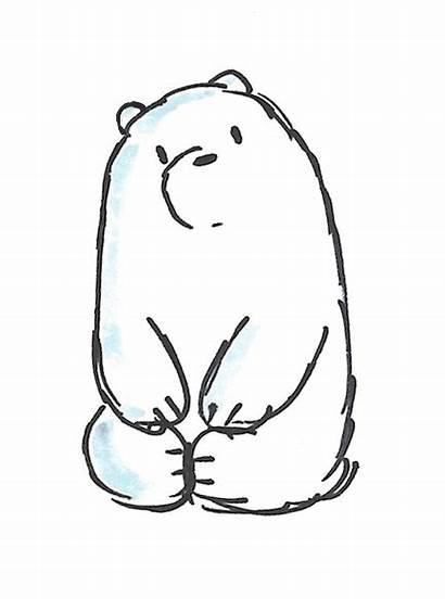 Bears Bare Bear Ice Sketches Sketch Escandalosos