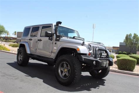 Jeep Wrangler Unlimited Modification by 2013 Jeep Wrangler Unlimited 4x4 Modified Stock