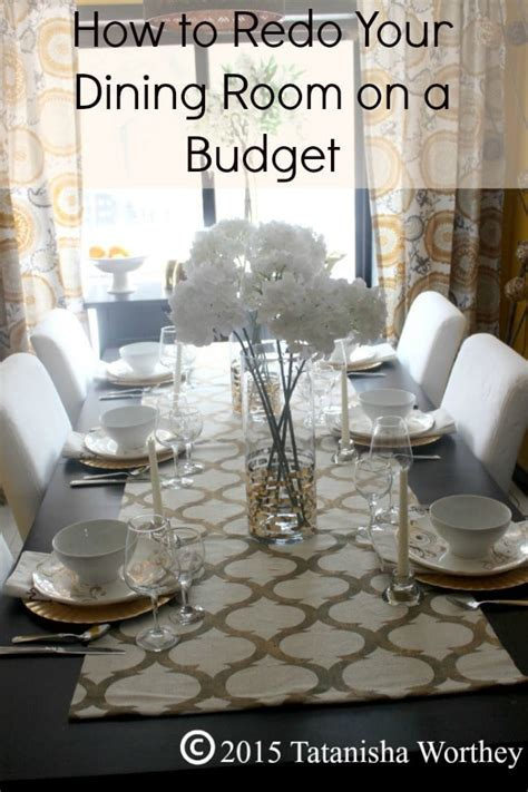 Redo Your Room by How To Redo Your Dining Room On A Budget