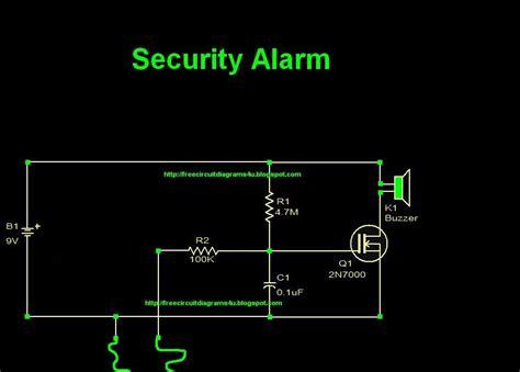 Circuit Diagram Security Alarm