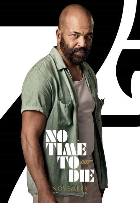 New Character Posters for the No Time to Die Movie ...