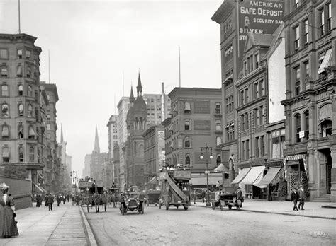 New York Circa 1912 Fifth Avenue Near 42nd Street