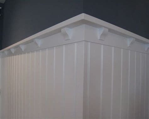 Best Way To Cut Beadboard : Beadboard Wainscoting Ledge