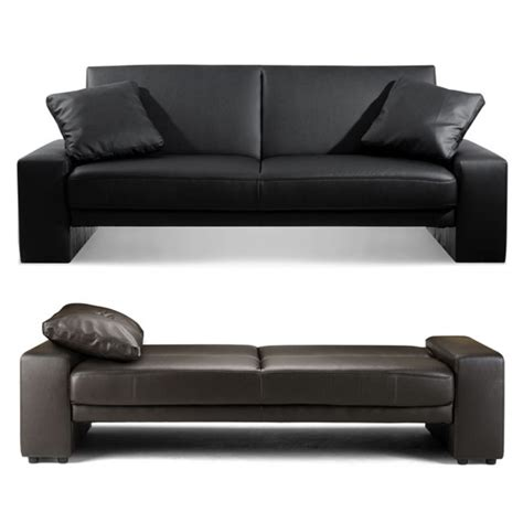 leather sofa bed ikea click clack sofa bed sofa chair bed modern leather