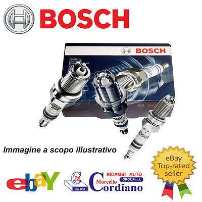 Candele Bosch Gpl by Candele Avviamento Auto Ricambi Veicoli Ricambi E