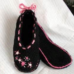 Crochet Slippers Pattern Free