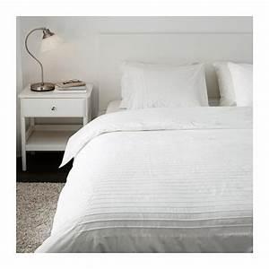 Couette été Ikea : alvine str duvet cover and pillowcase s white couettes ikea et place ~ Preciouscoupons.com Idées de Décoration