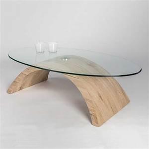 Couchtisch Glas Oval : ovaler couchtisch fredira mit glasplatte ~ Orissabook.com Haus und Dekorationen