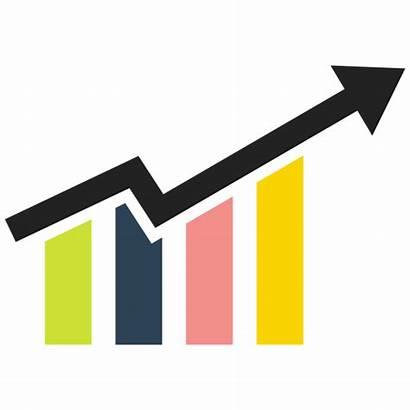 Finance Bar Clipart Graph Financial Icon Chart