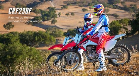 2019 Honda Trail Bikes by 2019 Honda Crf230f Review Specs Crf 230cc Dirt Bike
