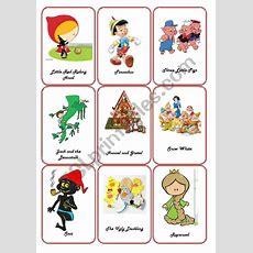 Storytelling  Fairy Tales Flashcards  Esl Worksheet By Thienepc