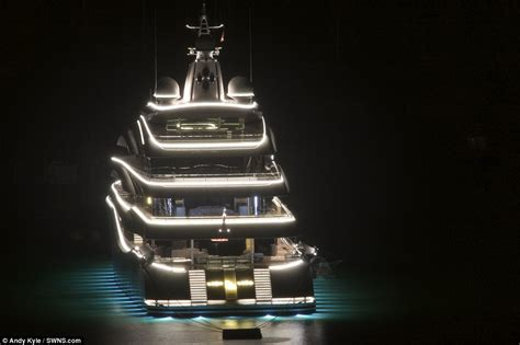 kazakhstani tycoon s 150million super yacht lady lara takes shelter from storm clodagh daily