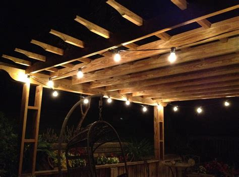 how to string lights outside battery operated patio string lights interior design ideas