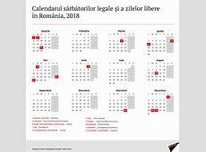 Calendarul zilelor libere în 2018, decretate prin lege în