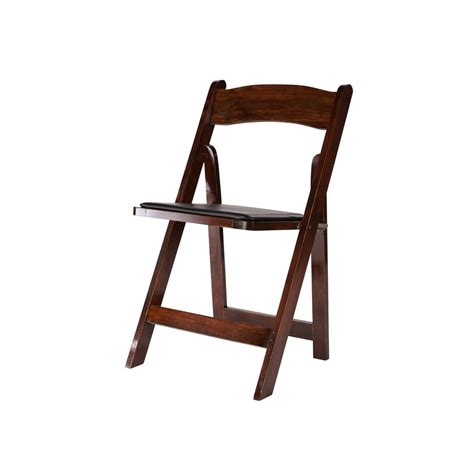 mahogany wood folding chair a chair affair inc