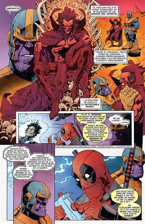 Deadpool Vs Thanos 3 [español]  Comics E Historietas